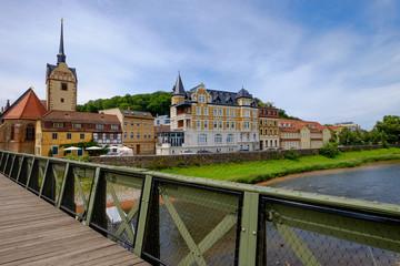 Brücke über die Elster in Gera