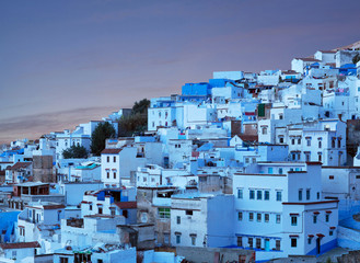 Chefchaouen blue medina in Morocco, Africa