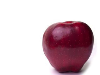 Red apple fruit.