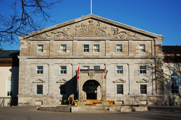 Rideau Hall is, since 1867, the official residence in Ottawa of both the Canadian monarch and the Governor General of Canada.