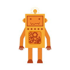 robot with gears