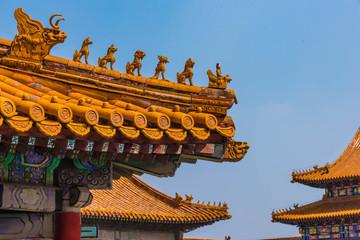 Detail Drachenwächter Verbotene Stadt Peking