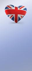 UK, United Kingdom Flag (3D Render)