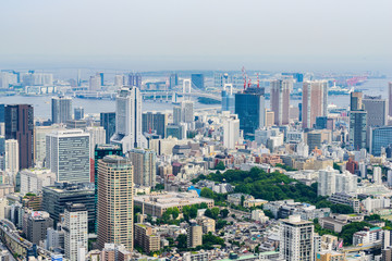 7月 東京の都市風景