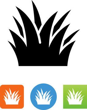 Grass Icon - Illustration