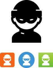 Hacker Icon - Illustration