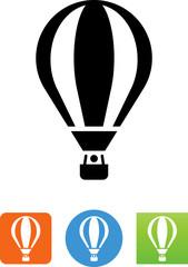 Hot Air Balloon Icon - Illustration