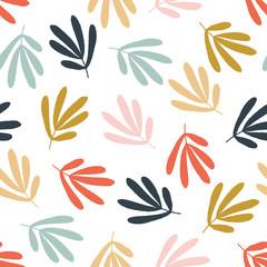 kbecca_vector_botanical_leaves_stylized_smallscale_pattern_seamless_tile