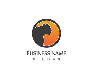 Panther Head Logo Design
