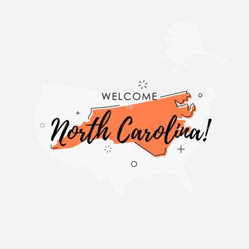 Welcome to North Carolina state map