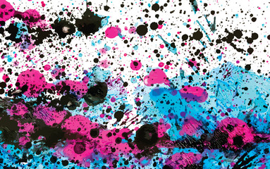 Vector Paint Splatters for Background