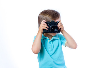 the boy with the camera