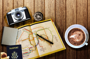 Travel preparations essentials