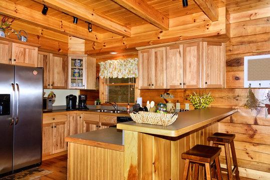 Kitchen in Cabin