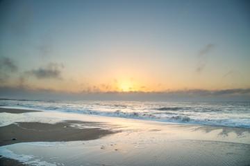 Sunrise at Edisto Island Beach in South Carolina