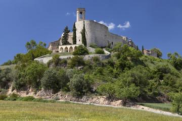 Walled Village of Montfalco Murallat