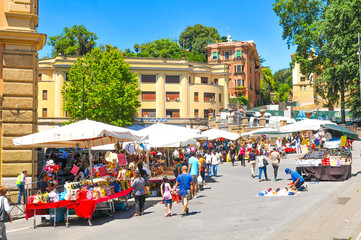 Market in Rome, Italy