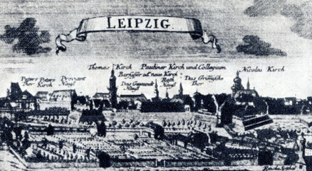Leipzig at Bach's lifetime