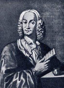 Antonio Vivaldi (1678-1741), italian composer and virtuoso violinist (François Morellon la Cave, 1725)