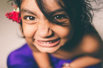 happy girl child