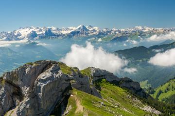 Swiss Alps from Pilatus
