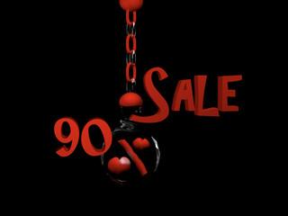 Sale 90%