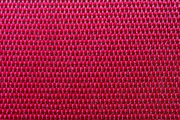 Texture of red polyester macro Fototapete