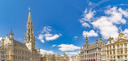 Foto op Canvas Brussel Bruxelles in Belgium