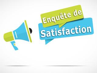 mégaphone : enquête de satisfaction