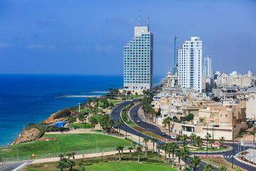 Netania promenade. Israel