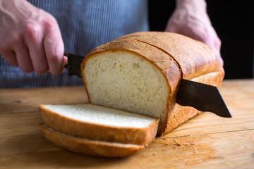 Slicing White Bread
