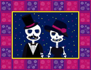 skull couple dead