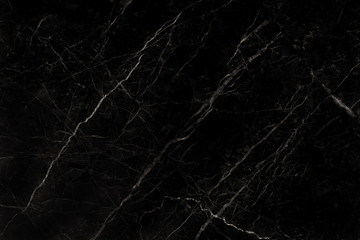 Black marble natural pattern for background, abstract natural marble black and white