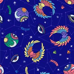 Mystical Magic Pattern