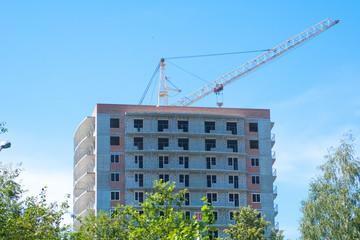 apartments construction site