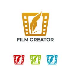 Film Creator Logo template designs vector illustration