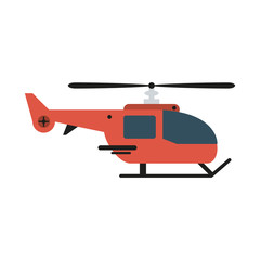 helicopter sideview icon image