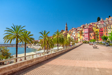Photo sur Plexiglas Nice Menton, France