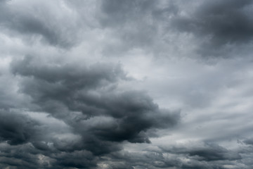 dark storm clouds,clouds with background,Dark clouds before a thunder-storm.