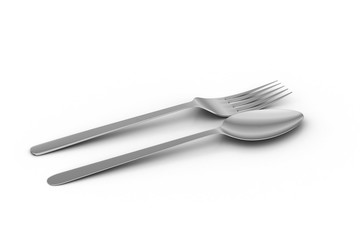 Cutlery set with Fork