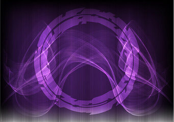 Many fine lines on a purple background