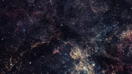Galaxy in outer space. Elements of this Image Furnished by NASA