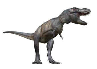 T-Rex von links, 3D-Rendering