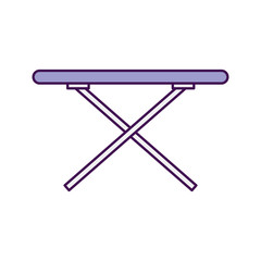ironing board isolated icon