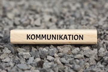 KOMMUNIKATION - Bilder mit Wörtern aus dem Bereich Soziale Medien, Wort, Bild, Illustration