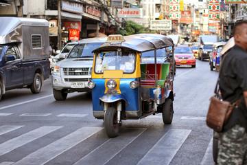 Tuk-Tuk in Bangkok 1