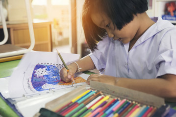 Search photos child homework