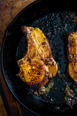 Tamarind Glazed Pork Chops