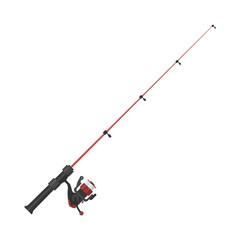 Vector illustration of fishing rod