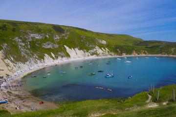 Foto op Aluminium Nieuw Zeeland Lulworth Cove,Dorset England